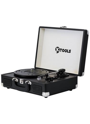 KTOOLS Ktools Nostalgie K344 Siyah Bluetoothlu Çanta Pikap Renkli